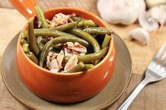 Just 4 ingredients, turn green beans into a slow cooker side people go crazy for