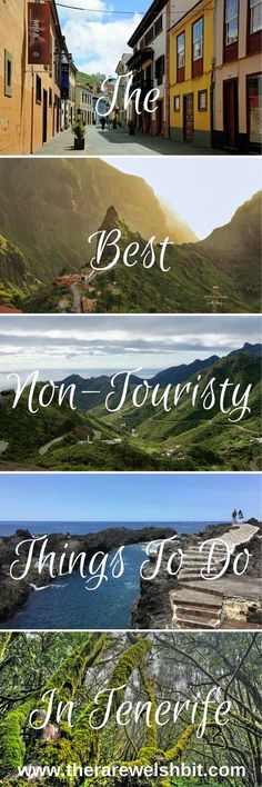 The best non-touristy things to do in Tenerife - the largest of all Canary Islands. #tenerife #canaryislands #visittenerife #spain #travel #wanderlust #vacation #holiday #travelblogger #island #europe #beaches