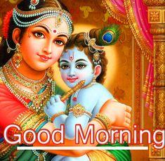 Good Morning Images Hd, Jai Shree Krishna, Good Morning Inspirational Quotes, Morning Greeting, Captain Hat, Wallpapers, Beautiful, Indian Gods, Wallpaper