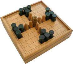 Antiguos Juegos Mesa: Tablut