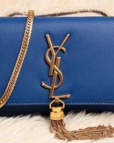 http://www.ahandbag.se/purse/handbags/yves-saint-laurent-cassandre-small-tassel-bag-blue/