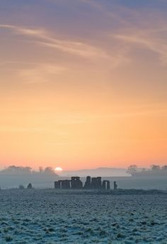 Stonehenge. Less impressive in person than in pictures, IMO, and people cannot get nearly as close to it as they could 30+ years ago, when I visited the site. But I do love seeing images like this!