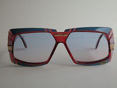 802f0c00e0e Cazal Vintage Eyeglasses - New Old Stock - Model 869 Col 683 - Blue   Pink