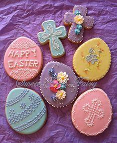 AMAZING Easter Cookies  @alibee'sbakeshop #easter #cookies