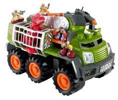 Matchbox Big Boots Dino Adventure Squad Vehicle by Mattel, $31.49  http://www.amazon.com/dp/B007RTFZLQ/ref=cm_sw_r_pi_dp_fCyTqb1HJEQT2