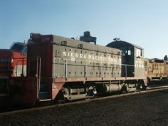 This ex-Southern Pacific EMD TR6A switcher sits parked at the Western Pacific Railroad Museum in Portola, CA.  Taken at Portola Railroad Days 2011.