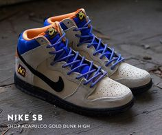 560f260a5e81 Nike SB Acapulco Gold Dunk High Nike Shoes Outlet