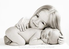 Newborn and sibling pose..so cute!