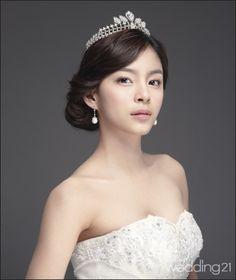 Korean Wedding Hairstyle