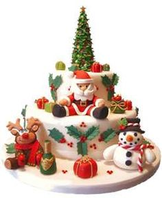 Image Detail for - Christmas-cake.png