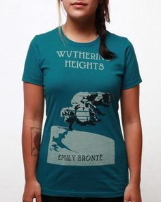 Women's Wuthering Heights T-shirt - Teal