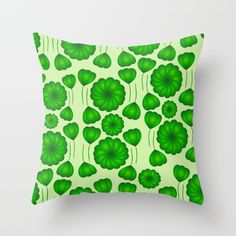 Throw #Pillow made from 100% spun polyester poplin fabric. It will liven up any room. Individually cut and sewn by hand, each pillow features a double-sided print and is finished with a concealed zipper for ease of care.  Sold with or without faux down pillow insert. #bedroom #society6