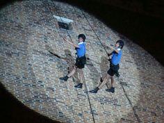 fotos&travels : Akrobacje na wieży ratuszowej