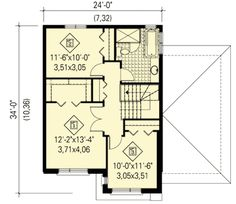 Narrow Lot Contemporary Home - 80761PM | 2nd Floor Master Suite, CAD Available, Canadian, Contemporary, Metric, Modern, PDF, Photo Gallery | Architectural Designs