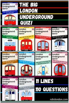 11 lines. how much do you know about the London Underground? London Transport, London Underground, Quizzes, Trivia, Did You Know, This Or That Questions, Big, Quizes
