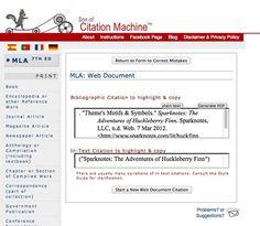 sons of citation machine mla