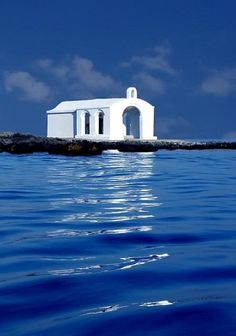 St. Nicholas chapel at Georgioupolis, Crete …