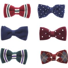 Designer Clothes, Shoes & Bags for Women Bow Ties, Bows, Mens Fashion, Knitting, My Style, Stuff To Buy, Accessories, Design, Women
