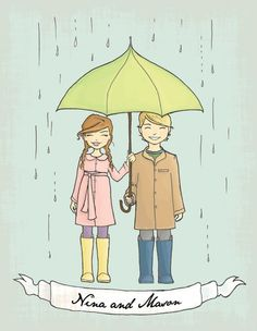 Tips for creating your Outdoor Wedding Rain Backup Plan that leave you feeling knowing whatever comes, you can weather the storm! Outdoor wedding rain tips: Rainy Wedding, Our Wedding, Wedding Tips, Comic Character, Character Design, May Weddings, Cute Clipart, Hand Sketch, Spring Is Coming