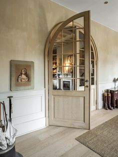 Panelling and beautiful doors