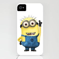 Minion - Despicable Me, iPhone 4 case, iPhone 4s Case, Hard Plastic, FREE shipping worldwide