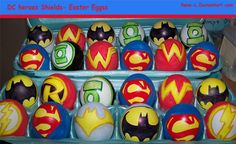 Easter-riffic Easter Eggs Featuring Superheroes, Angry Birds ...