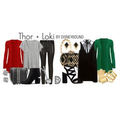 Next up in the Disney Cruise Line DisneyBound series for #MARVELDAYATSEA (and just in time for SDCC), LOKI AND THOR!    Get the look!