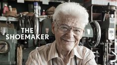 Frank Catalfumo is a 91 year old shoemaker and repairer in Bensonhurst, Brooklyn. He first opened the doors to F&C Shoes in 1945 and continues to work five days a week alongside his son Michael. Brooklyn, Inspirational Videos, How To Make Shorts, A Christmas Story, Back In The Day, Portrait Photographers, Year Old, Storytelling, Documentaries