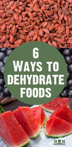 6 Ways to Dehydrate Foods | Think using an electric dehydrator is the only way to be able to dehydrate your garden bounty? You've got options!