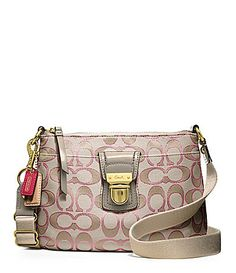 89b3c91d59 ... coupon code for coach poppy signature metallic swingpack dillards 2556b  57a89