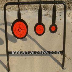 #steel shooting target, #shooting target, #automatic reseting shooting target
