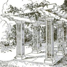 Plans for pergola Our pergola plans create a structure that s large enough to span a picnic table Videos Photos And diagrams Gazebos and Diy Pergola, Building A Pergola, Corner Pergola, Small Pergola, Pergola Canopy, Pergola Attached To House, Cheap Pergola, Outdoor Pergola, Wooden Pergola