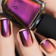 ... Chrome Nails on Pinterest | Metallic Nails, Chrome Nail Polish and