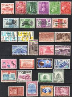 Pakistan-30-U-M-Stamps-Mark-on-1st-stamp