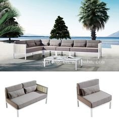 Best Seller Low Price Outdoor Sofa Set Aluminum Outdoor Furniture Sofa   Buy  Low Price Sofa