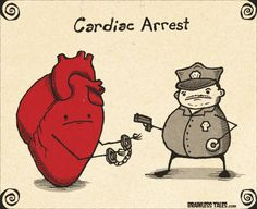 That's what happens after a heart attack.