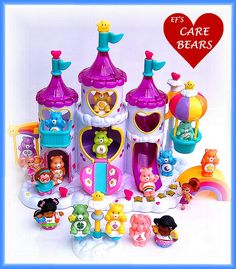 care bears - I wish I could still buy this for my daughter! There is true care bear love in the air when small children meet their favorite colorful little bears and little angels stand close by and join in all the fun Best Cousin Quotes, Little Brother Quotes, Proud Mom Quotes, Daughter Quotes, Retro Toys, Vintage Toys, 1980s Toys, Care Bears Vintage, Barbie Princess