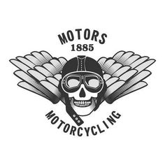Vector Skull Emblem Motorcycle Helmet And Motorcycle Glasses. Royalty Free Cliparts, Vectors, And Stock Illustration. Motorcycle Boots Outfit, Motorcycle Wedding, Leather Motorcycle Boots, Motorcycle Helmets, Indian Motorcycle Apparel, Triumph Logo, Gear Logo, Custom Helmets, Banner Printing