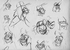 Beetlejuice - Character Design Page
