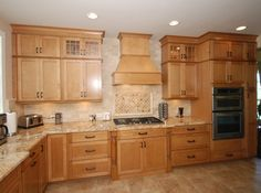 Create Your Dream Kitchen With KraftMaid cabinets - Enjoy Your Time Kraftmaid Kitchen Cabinets, Pallet Kitchen Cabinets, Kitchen Countertop Materials, Maple Cabinets, Kitchen Redo, Kitchen Remodel, Maple Kitchen, Granite Kitchen, Kitchen Countertops