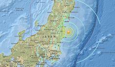 Un fuerte terremoto de 6,9 sacude a Fukushima - http://www.meteorologiaenred.com/terremoto-fukushima.html