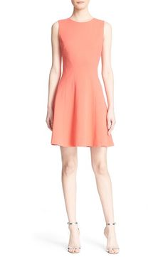 Diane von Furstenberg 'Citra' Sleeveless Fit & Flare Dress available at #Nordstrom