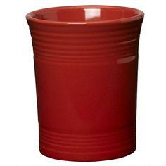 Fiesta® Scarlet Utensil Crock