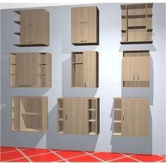 Muebles De Baño Flotantes:Mubles Para Baños, Modulos Aéreos P/ Baño – Gabinetes – Bolívar