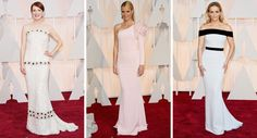 Meus/minhas 3 preferidos/as do Oscar 2015! Quais foram os seus? Julianne Moore deChanel Haute Couture/Gwyneth Paltrowde Ralph & Russo /Reese Witherspoon deTom Ford Fotos: 1, 2 e 3