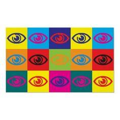 Optometry Pop Art #nuvoLife www.nuvooptometry.ca