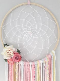 Selling Handmade Items, Etsy Handmade, Handmade Gifts, Gifts For Wife, Gifts For Her, Large Dream Catcher, Dream Catchers, Dream Catcher Nursery, Etsy Crafts
