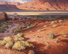 Passing Clouds, Vermillion Cliffs - Josh Elliott, oil, 24 x 30