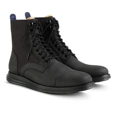 outlet store dc1c2 15cb7 Cole Haan LunarGrand Lace Boot Cole Haan, Shoe Boots, Sock Shoes, Mens  Boots