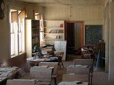 Old school.See previous post for further details. Abandoned Malls, Abandoned Places, Old Buildings, Abandoned Buildings, Bodie California, School's Out Forever, Historical Landmarks, Ghost Towns, Old School